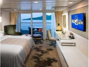 bliss cruise club continent suite