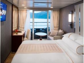 bliss cruise club veranda plus stateroom
