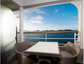 bliss cruise club veranda stateroom
