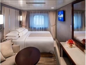 bliss cruise club ocean stateroom