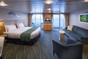 bliss cruise oasis cabin ultra spacious oceanview stateroom with large balcony