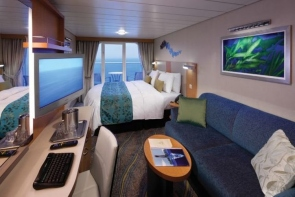 bliss cruise oasis oceanview stateroom with large balcony