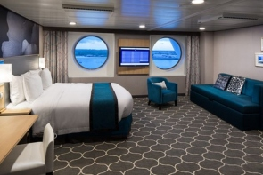 Bliss Cruise Oasis Ultra Spacious Oceanview Stateroom