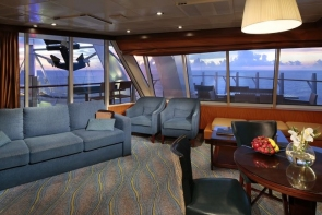 bliss cruise oasis cabin spacious aquatheater suite large balcony