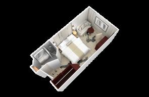Club Oceanview Stateroom Desire Cruise 2020