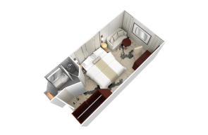 Club Oceanview Stateroom Lisbon Desire Cruise 2021