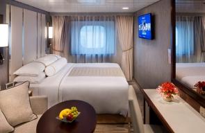 Club Oceanview Stateroom Rome Desire Cruise 2021
