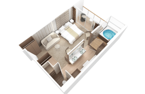 Club Spa Suite Desire Cruise 2020