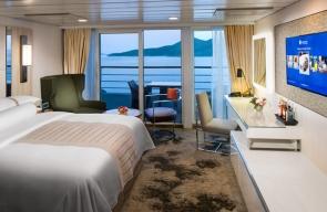Rome Desire Cruise 2021 Club Continent Suite
