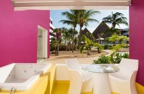 Temptation Cancun Resort Plush Jacuzzi Room