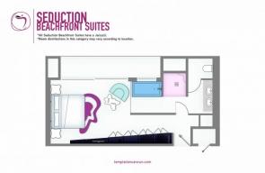 Temptation Cancun Resort Seduction Beachfront Suite