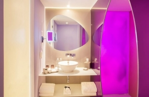 Temptation Cancun Resort Trendy Ocean View Room Bath