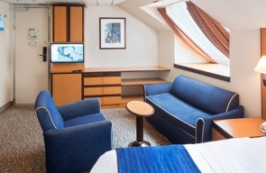 Temptation Caribbean Cruise 2020 Ultra Spacious Ocean View Stateroom
