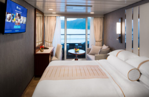 Desire Cruise Greek Islands 2022 Club Veranda Stateroom