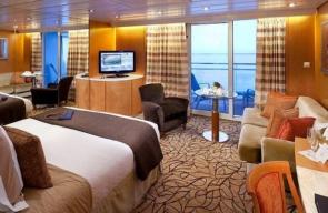 Bliss Cruise Curaçao 2022 Sky Suite