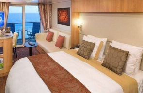 Bliss Cruise Deluxe Stateroom Curaçao November 2022
