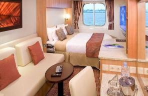 Bliss Cruise November 2022 Oceanview Stateroom