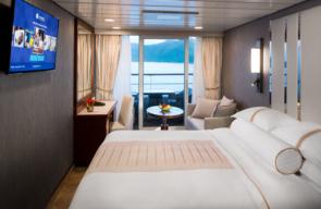 Desire Greek Islands Cruise 2022 Club veranda Plus Stateroom