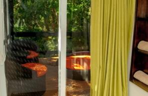 Garden View au Natural Premium balkon