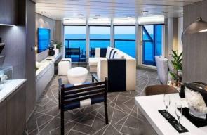 Bliss Cruise voor Swingers Jamaica April 2023 Celebrity Suite